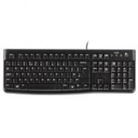 Logitech klawiatura K120 | przewodowa | USB | black, Myszki i klawiatury, Akcesoria komputerowe