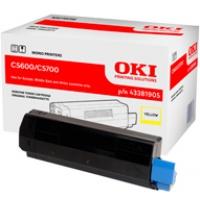 Toner Oki do C-5600/5700 | 2 000 str. | yellow, Tonery, Materiały eksploatacyjne