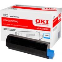 Toner Oki do C-5600/5700 | 2 000 str. | cyan, Tonery, Materiały eksploatacyjne