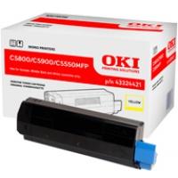 Toner Oki do C-5800/5900/5550MFP | 5 000 str. | yellow, Tonery, Materiały eksploatacyjne