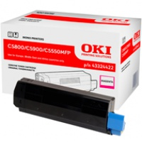 Toner Oki do C-5800/5900/5550MFP | 5 000 str. | magenta, Tonery, Materiały eksploatacyjne