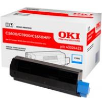 Toner Oki do C-5800/5900/5550MFP | 5 000 str. | cyan, Tonery, Materiały eksploatacyjne