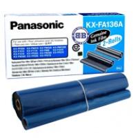 Folia Panasonic do faksów KX-F1110/1015 KX-FP121/131PD | 2 x 330 str. | black, Folie do faksów, Materiały eksploatacyjne