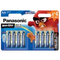 Baterie Panasonic alkaliczne EVOLTA LR6 LR6/4+4 = 8szt, Baterie, Urządzenia i maszyny biurowe