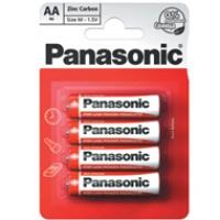Bateria Panasonic węglowo-cynkowa R6/4BP | 4szt., Baterie, Urządzenia i maszyny biurowe