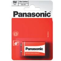 Bateria Panasonic węglowo-cynkowa 6F22/1BP | 1szt., Baterie, Urządzenia i maszyny biurowe