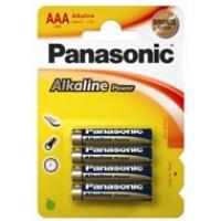 Baterie Panasonic alkaliczne ALKALINE LR03AP/4BP | 4szt., Baterie, Urządzenia i maszyny biurowe