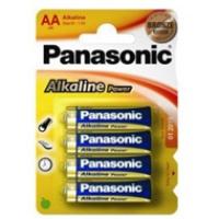 Baterie Panasonic alkaliczne ALKALINE LR6 LR06AP/4BP | 4szt., Baterie, Urządzenia i maszyny biurowe