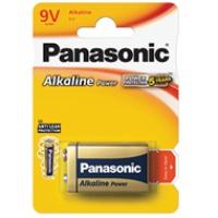 Baterie Panasonic alkaliczne ALKALINE 6LR61AP/1BP | 1szt., Baterie, Urządzenia i maszyny biurowe