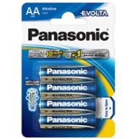 Baterie Panasonic alkaliczne EVOLTA LR6 LR06/4BP | 4szt., Baterie, Urządzenia i maszyny biurowe