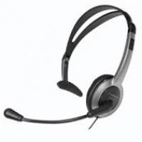 Słuchawki Panasonic KX-TCA430E-S nagłowne, Głośniki i słuchawki, Akcesoria komputerowe
