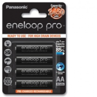 Akumulator Panasonic ENELOOP PRO R6/AA czarne | 2550mAh | 4szt., Akumulatorki i ładowarki, Urządzenia i maszyny biurowe