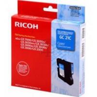 Tusz Ricoh do GX2500/3000/3050/5050/7000 | 1 000 str. | cyan, Tusze, Materiały eksploatacyjne
