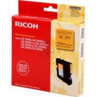 Tusz Ricoh do GX2500/3000/3050/5050/7000 | 1 000 str. | yellow, Tusze, Materiały eksploatacyjne