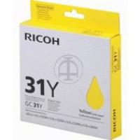 Tusz Ricoh do GXE2600/3300/3350/5550 | 1 000 str. | yellow, Tusze, Materiały eksploatacyjne