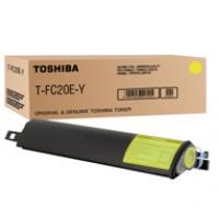 Toner Toshiba T-FC20EY do e-Studio 2020C | 16 800 str. | yellow, Tonery, Materiały eksploatacyjne