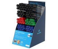 Display markerów permanentnych SCHNEIDER Maxx 130, 80 szt., mix kolorów, Markery, Artykuły do pisania i korygowania