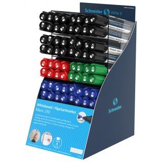 Display markerów do tablic i bloków do flipchartów Maxx 290, 64 szt., mix kolorów, Markery, Artykuły do pisania i korygowania