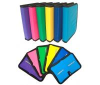 Piórnik szkolny GIMBOO, ekon. bez wyposażenia, 1 komora, 1 przekładka, mix kolorów, Piórniki, Artykuły szkolne