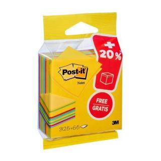 Kostka samoprzylepna POST-IT® ( 2014-UCP), 76x76mm, 1x325 kart., mix kolorów, Bloczki samoprzylepne, Papier i etykiety