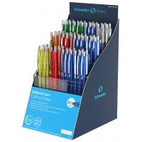 Display długopisów automatycznych SCHNEIDER K20 Icy Colours, M, 100 szt., miks kolorów, Długopisy, Artykuły do pisania i korygowania