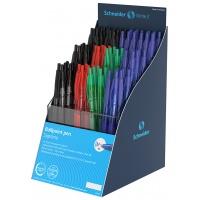 Display długopisów automatycznych SCHNEIDER Suprimo, M, 80 szt., miks kolorów, Długopisy, Artykuły do pisania i korygowania