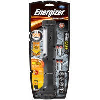 Latarka ENERGIZER Hard Case Pro Work + 4szt. baterii AA, czarna, Latarki, Urządzenia i maszyny biurowe