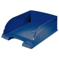 Półka na dokumenty Leitz Plus - Jumbo, niebieski, Szufladki na biurko, Archiwizacja dokumentów