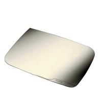 Przezroczysta mata na biurko 500 x 650 mm, krystaliczny, Podkładki na biurko, Wyposażenie biura