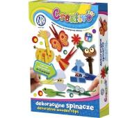 Astra Creativo - Dekoracyjne spinacze, Produkty kreatywne, Artykuły szkolne