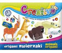 Astra Creativo - Origami zwierzaki, Produkty kreatywne, Artykuły szkolne