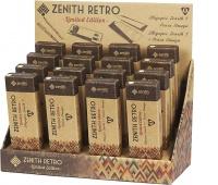 Display Zenith Retro 16 sztuk (4 długopisy, 4 pióra, 8 kompletów), Długopisy, Artykuły do pisania i korygowania