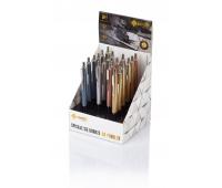 Długopis automatyczny Zenith 7 - display 20 sztuk, mix kolorów metalicznych, Długopisy, Artykuły do pisania i korygowania