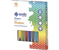 Długopis Zenith Shadow - box 10 sztuk, mix kolorów, Długopisy, Artykuły do pisania i korygowania