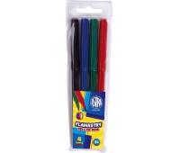 Flamastry Astra CX - 4 kolory, Plastyka, Artykuły szkolne