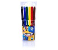 Flamastry Astra CX - 6 kolorów, Plastyka, Artykuły szkolne