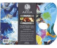 Paleta papierowa 23x30,5cm, 40 arkuszy, 58g/m2 - do farb, Plastyka, Artykuły szkolne