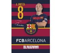 Zeszyt MO A5 32k kratka FC Barcelona Barca Fan 4, Zeszyty, Artykuły szkolne