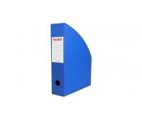 Pojemnik na dokumenty 7 cm niebieski, Pojemniki na dokumenty i czasopisma, Archiwizacja dokumentów