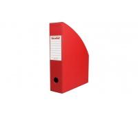Pojemnik na dokumenty 7 cm czerwony, Pojemniki na dokumenty i czasopisma, Archiwizacja dokumentów