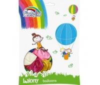 """BALON 10"""" METAL MIX KOLORÓW Fiorello, Balony, Artykuły dekoracyjne"""