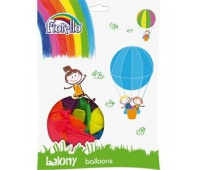 "BALON 10"" NEON MIX Fiorello, Balony, Artykuły dekoracyjne"