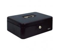 Kasetka EAGLE 8878L czarna 100x217x300, Kasetki na pieniądze, Wyposażenie biura