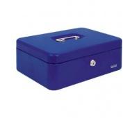 Kasetka EAGLE 8878L niebieska 100x217x300, Kasetki na pieniądze, Wyposażenie biura
