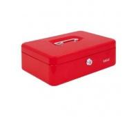 Kasetka EAGLE 8878M czerwona 82x192x262, Kasetki na pieniądze, Wyposażenie biura