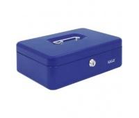 Kasetka EAGLE 8878M niebieski 82x192x262, Kasetki na pieniądze, Wyposażenie biura