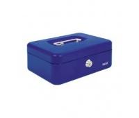 Kasetka EAGLE 8878S niebieski 77x157x207, Kasetki na pieniądze, Wyposażenie biura