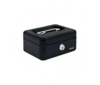 Kasetka EAGLE 8878XS czarny 70x120x153, Kasetki na pieniądze, Wyposażenie biura