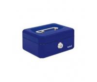 Kasetka EAGLE 8878XS niebieski 70x120x153, Kasetki na pieniądze, Wyposażenie biura
