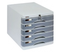 Szafka na dokumenty GRAND GR-SP05 (5 szuflad + zamek), Szafki na dokumenty, Wyposażenie biura